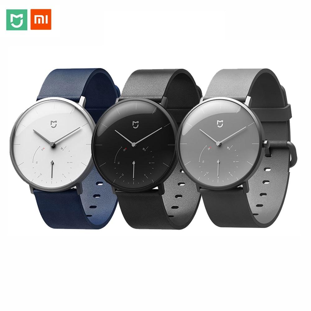 XIAOMI MIJIA Quartz montre intelligente hommes femmes décontracté Double cadran rappel de Vibration podomètre 6 mois veille Smartwatch montre-bracelet