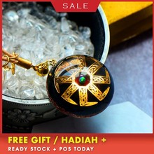AURAREIKI Orgonite Charm Pendant Natural Crystal Radiation Reiki Pendant Orgonite Blessing Lucky Pendant Jewelry For Women C0123