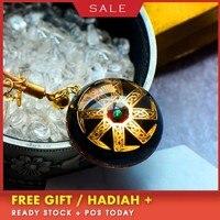 AURAREIKI Orgonite Charm Pendant Natural Crystal Radiation Reiki Pendant Orgonite Blessing Lucky Pendant Jewelry For Women C0123