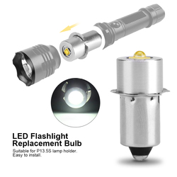 Ampoule de remplacement, Base 3W, haute puissance LED, lampe torche, lampe de travail d'urgence pour Maglite, 1 pièce
