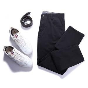 Image 2 - Мужские уличные повседневные штаны Pioneer Camp, зимние штаны из толстого флиса, брендовая одежда