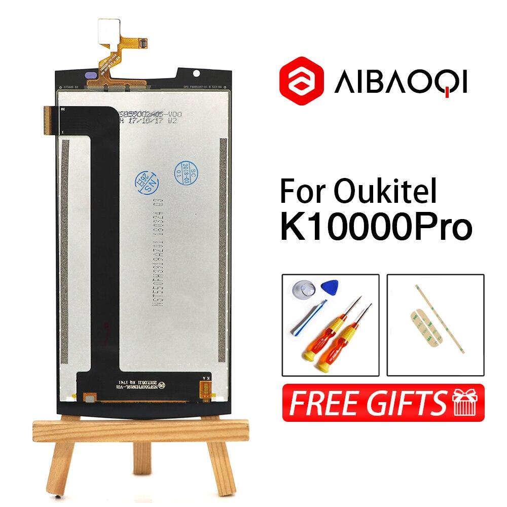 Image 2 - AiBaoQi 100% nueva pantalla táctil de 5,5 pulgadas + 1920x1080 reemplazo de montaje de pantalla LCD para teléfono Oukitel K10000 Pro Android 7,0-in Teléfono Móvil LCD pantallas from Teléfonos celulares y telecomunicaciones on AliExpress