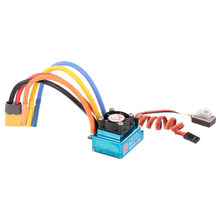 120A Sensored Brushless ESC Electric Speed Controller met BEC XT60 Connector voor RC Auto Boot(China)