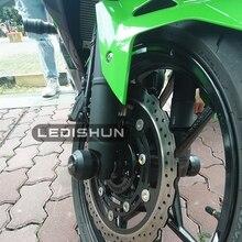 Для Kawasaki NINJA 250 NINJA300 Z250 Z300 мотоциклетные передние и задние колеса, дропшиппинг/амортизатор, передний мост, слайдер, маятник
