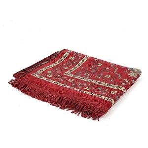 Image 5 - 110*70 CM Moslim Gebed Tapijt Tapijt Mat Ramadan Eid Gift Katoen Knielen Tapijt Yoga Mat Turkse Islamitische Slaapkamer home Decor