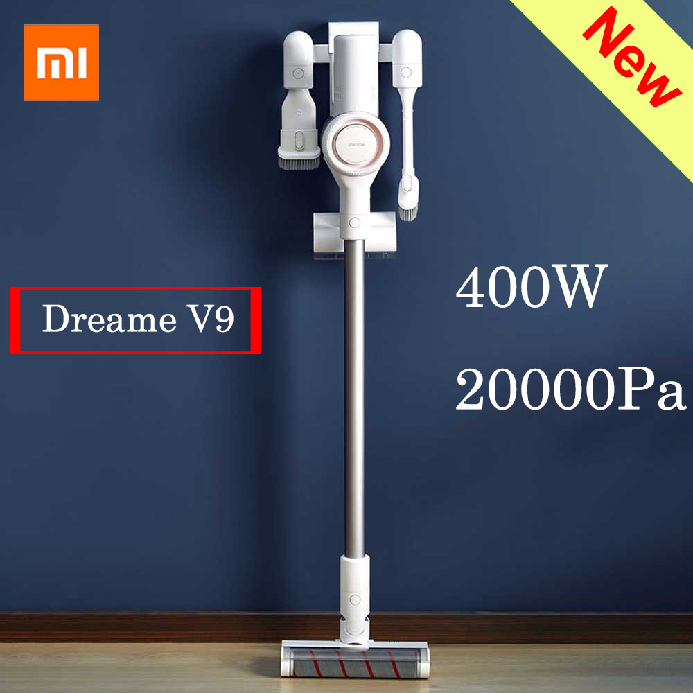 xiaomi dreame v9 vacuum cleaner 400w 20000pa handheld cordless stick vacuum cleaners aspirator. Black Bedroom Furniture Sets. Home Design Ideas