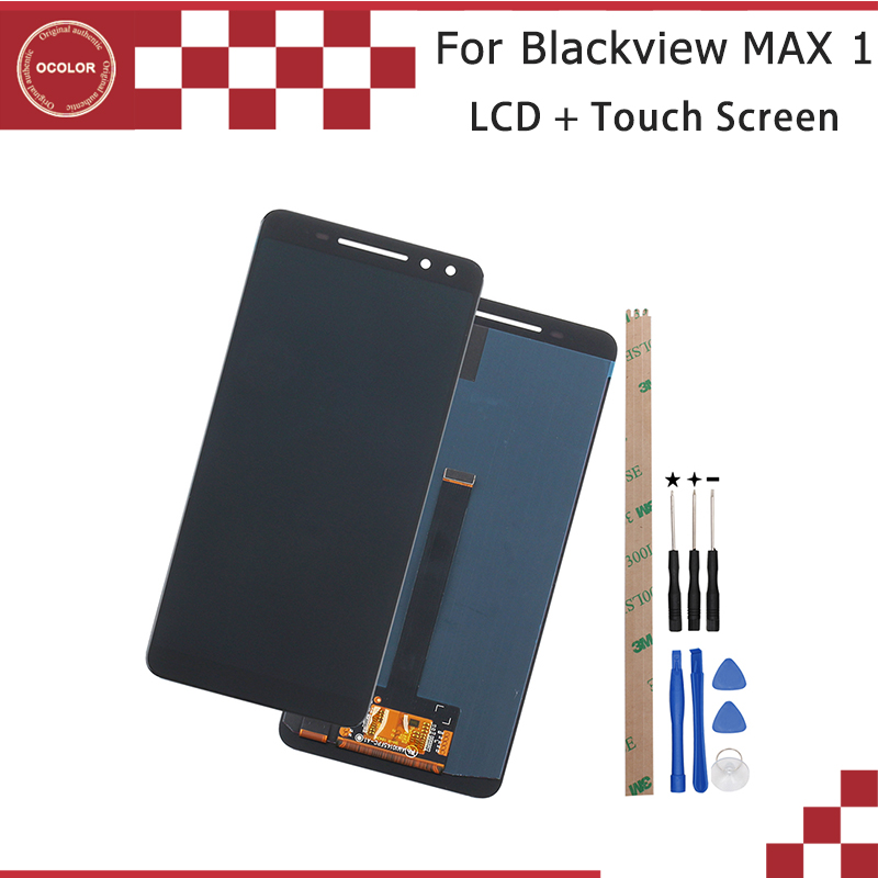 ocolor For Blackview MAX 1 LCD Display and Touch Screen Digitizer 6 01 For Blackview MAX
