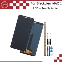 Ocolor Blackview MAX 1 LCD 디스플레이 및 터치 스크린 디지타이저 6.01 blackview MAX 1 스크린 교체 + 도구 + 접착제 용