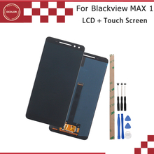 Ocolor For Blackview MAX 1 شاشة الكريستال السائل و محول الأرقام بشاشة تعمل بلمس 6.01 For Blackview MAX 1 قطع غيار للشاشة + أدوات + لاصق