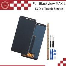 Ocolor dla Blackview MAX 1 wyświetlacz LCD i ekran dotykowy Digitizer 6.01 dla Blackview MAX 1 wymiana ekranu + narzędzia + klej