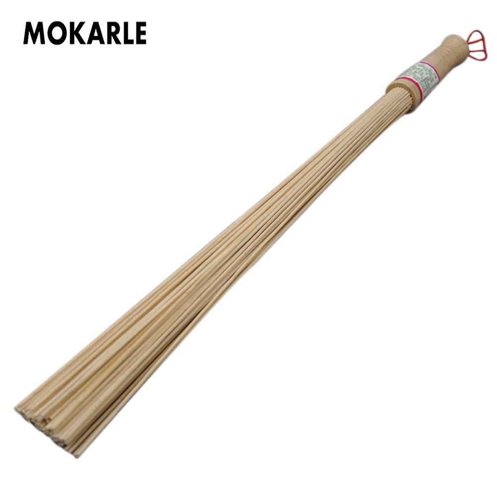 1PC Natürliche Bambus Körper Massage Werkzeuge Fitness Pat Hammer Gesundheit Pflege Stick