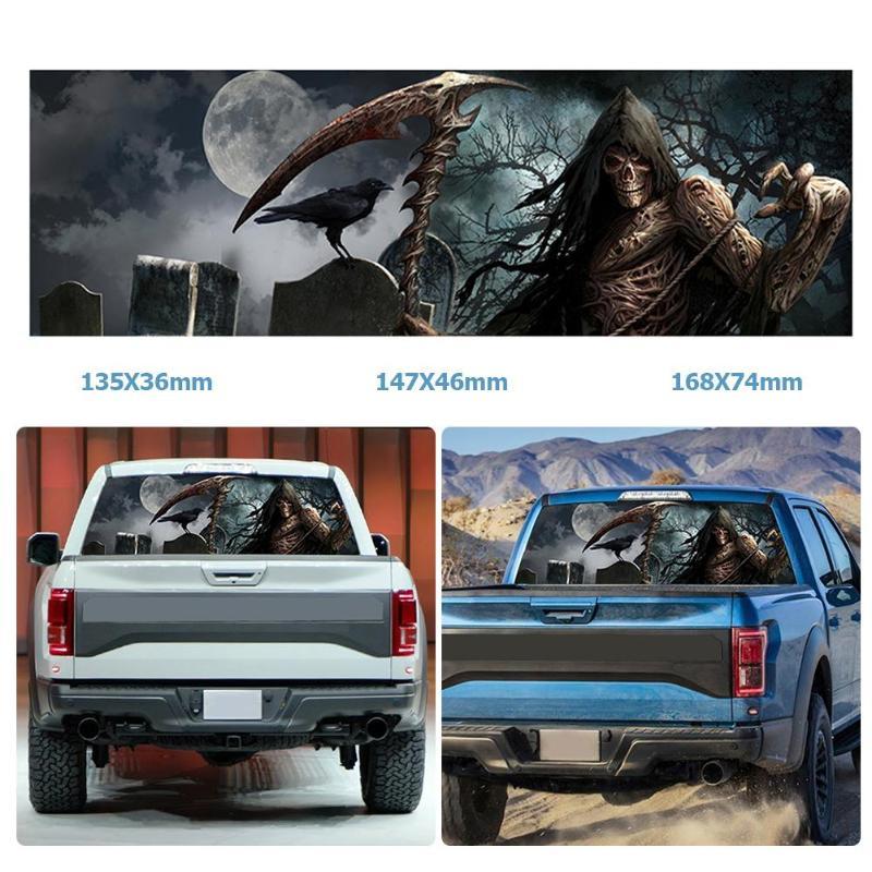 Chevrolet Reaper Silverado Logo Graphic Vinyl Decal Sticker Chrome Reflective