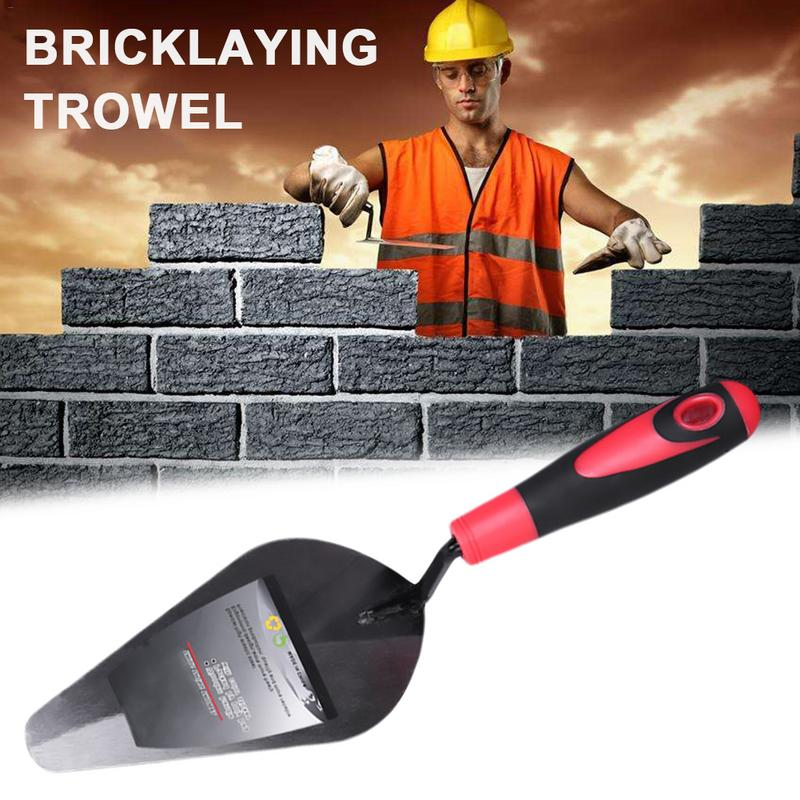 8 Inch Bricklaying Trowel Double Sided Trowel Hardware Wall Building Tool With Handle Hand Tools Industrial Grade Bricklaying
