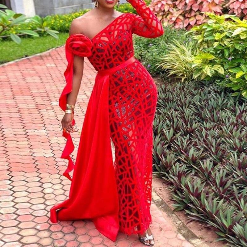 Sisjuly сексуальное облегающее платье для вечеринки платье вне плечо элегантный вечерний женский летний полый прозрачный длинный сексуальный...