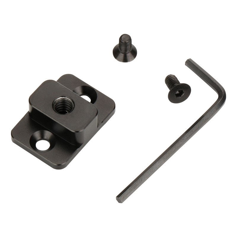 Video Monitor Mounting Plate For Dji Ronin S Replace Mount M4 To 1/4 Screw Adapter Extend Port For Monitor Magic Arm VS SmallR