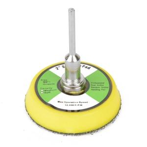 Image 5 - 60 ピース/セット 1/4 50 ミリメートルでサンダーディスク研磨ディスクサンドペーパー研磨剤のためのフック & ループパッドバッカープレート研磨クリーニングツール