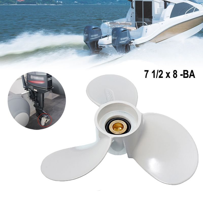 3 Blades 11 1/4 x 14G Propellers Prop Aluminum Outboards Propeller White Spline Marine Propeller Boat Parts For Yamaha 40-60HP3 Blades 11 1/4 x 14G Propellers Prop Aluminum Outboards Propeller White Spline Marine Propeller Boat Parts For Yamaha 40-60HP