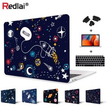 Redlai Crystal Print Soft Touch Laptop Case Shell For MacBook 12 Air Pro Retina 11 13 15 bar New 2018 A1932