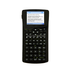 H800 txt calculator 4G memory + 64G TF memory card music video photo txt ebook student calculator with emergency button