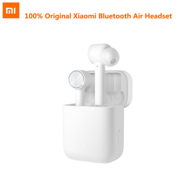 2019 New Stock Original Xiaomi Bluetooth Air Headset TWS Wireless Stereo Sport Earphone ANC Switch ENC Auto Pause Tap Control
