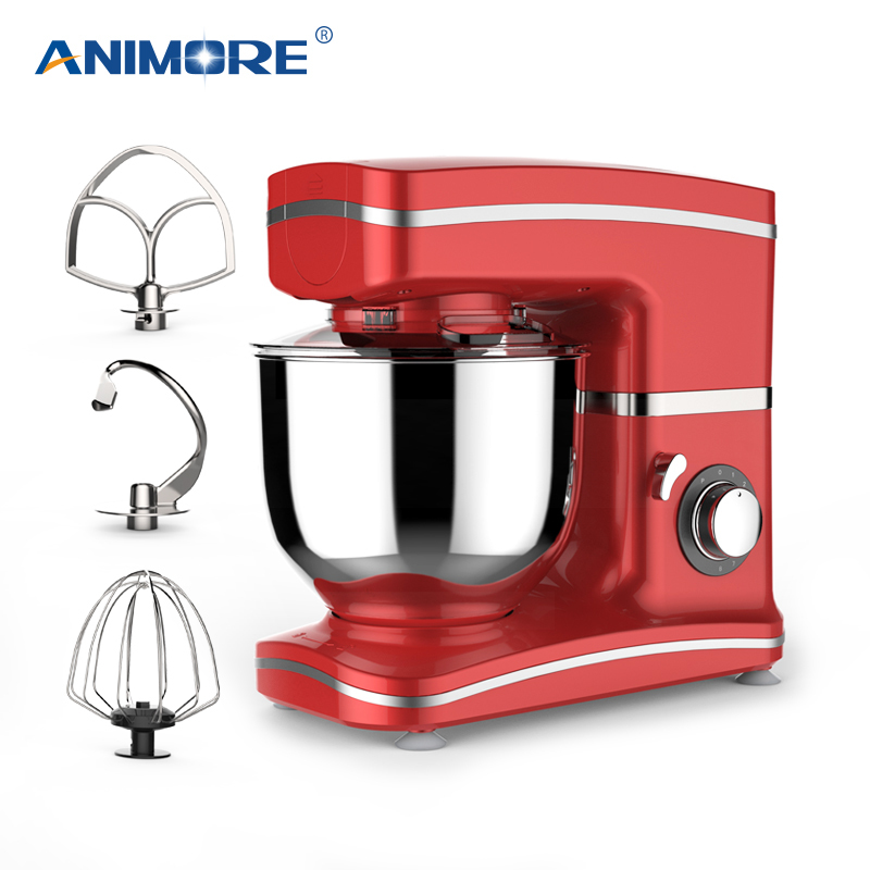 ANIMORE Kitchen Food Stand Mixer 1000W 5.5L Stainless Steel Bowl 8-speed Cream Egg Whisk Blender Cake Dough Bread Mixer MakerANIMORE Kitchen Food Stand Mixer 1000W 5.5L Stainless Steel Bowl 8-speed Cream Egg Whisk Blender Cake Dough Bread Mixer Maker