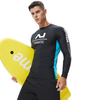 2019 Summer New Diving Suit Male Swimsuit Quick drying Long sleeved Sunscreen Surf Clothing