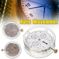 2 Colors Automatic Movement ETA Clone 7750 Replacement Day Date Chronograph Watch Accessories Repair Tools Kit Parts