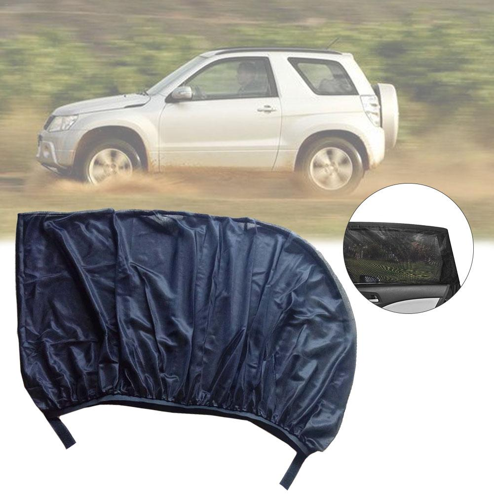 Image 3 - 1 Pair Car Side Window Sunshade Curtain Mesh Sun Heat Block SUV Special Mosquito Resistant Screen Window Car Accessories-in Side Window Sunshades from Automobiles & Motorcycles