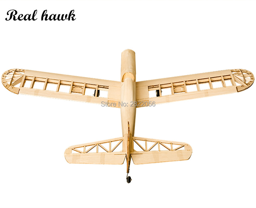Image 4 - RC Plane Laser Cut Balsa Wood Airplane Astro Junior Frame without Cover Wingspan 1380mm Balsa Wood Model Building KitRC Airplanes   -