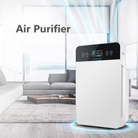 Smart Air Purifier sterilizer addition to Formaldehyde Smoke air wash cleaning Intelligent Household Hepa Filter Remote Control