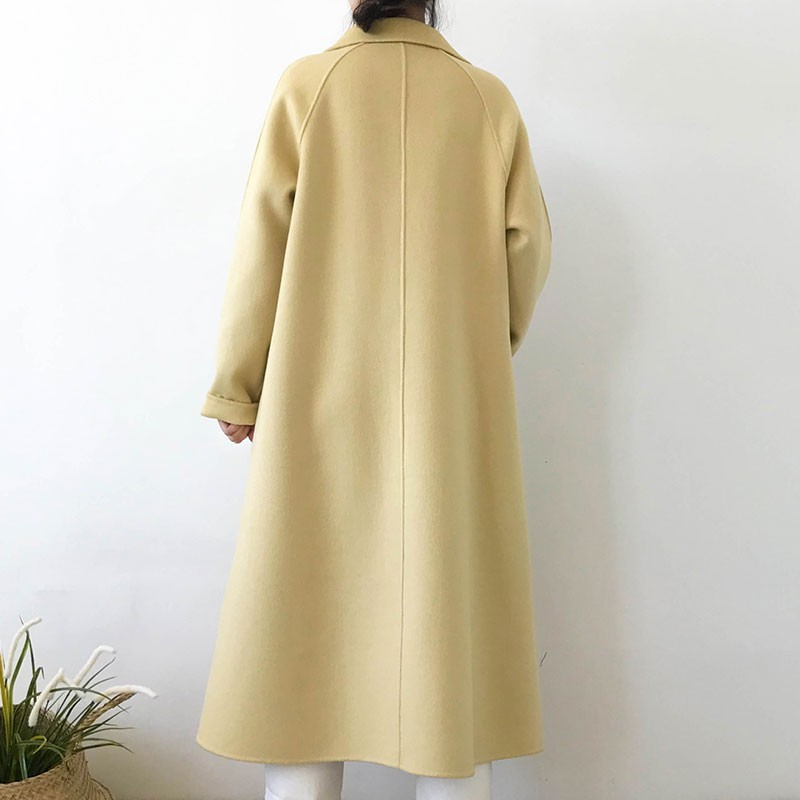 Wool Coat Female Fashion women Woolen Coats High end Elegant Long Slim Winter jacket Royal Coats amp Jackets Plus Size Femininos H44 in Wool amp Blends from Women 39 s Clothing