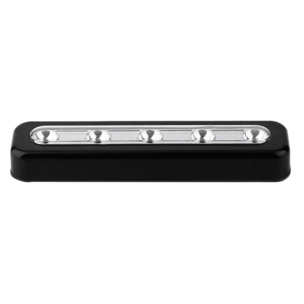 2019 супер яркость беспроводной настенный светильник 5 светодиодный шкаф для шкафа самоклеящийся кран светильник домашняя Ночная Аварийная сенсорный светильник
