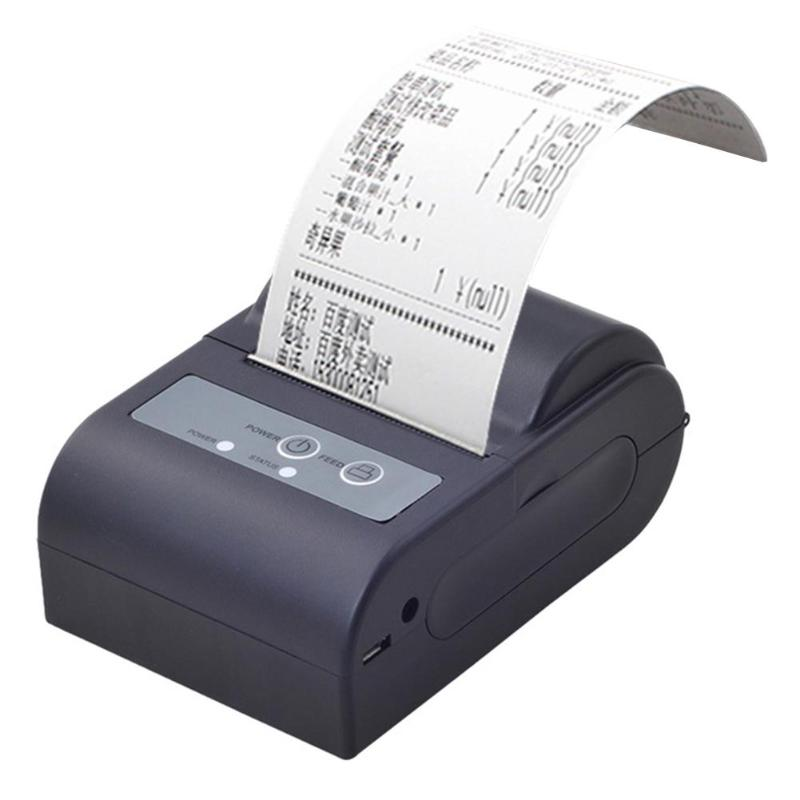 Portable Bluetooth Wireless Mini Printer for Android Phone US Plug High Quality Thermal Receipt Printer for Supermarket DinerPortable Bluetooth Wireless Mini Printer for Android Phone US Plug High Quality Thermal Receipt Printer for Supermarket Diner