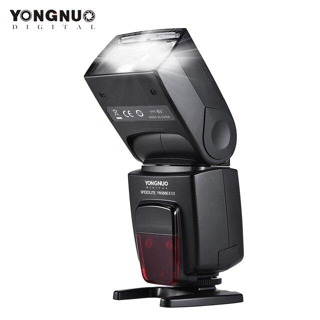 YONGNUO YN568EX III YN 568EX III TTL اللاسلكية HSS فلاش Speedlite لكانون DSLR كاميرا متوافق YN600EX RT II YN568EX II