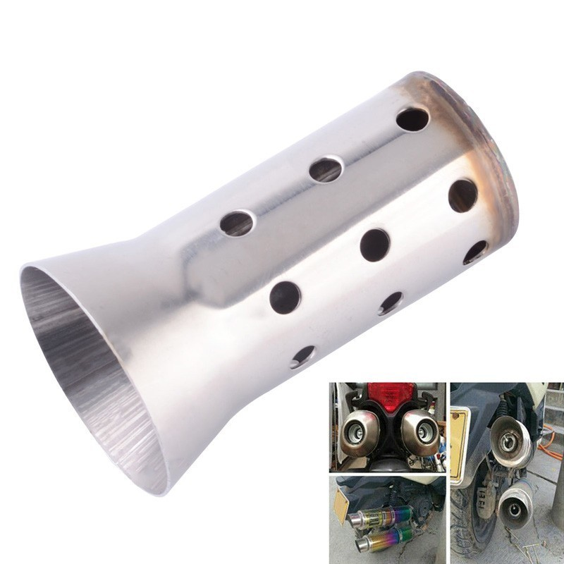 Motorcycle Exhaust Silencer Muffler Scooter Street-Bike Adjustable 51mm Universal YAMAHA