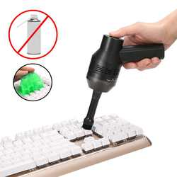 USB пылесос для клавиатуры с чистящий гель Перезаряжаемые мини Пылесос аккумуляторный для автомобиля Автомобильная пыль ноутбук очистки