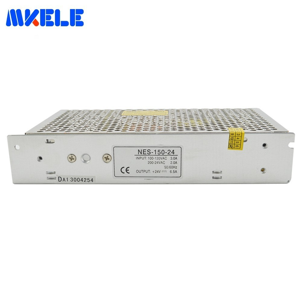 High Efficiency 150W Single Output Switching Power Supply 20A 7.5V NES-150-7.5 CE Power Supplies CE Approved WholesaleHigh Efficiency 150W Single Output Switching Power Supply 20A 7.5V NES-150-7.5 CE Power Supplies CE Approved Wholesale