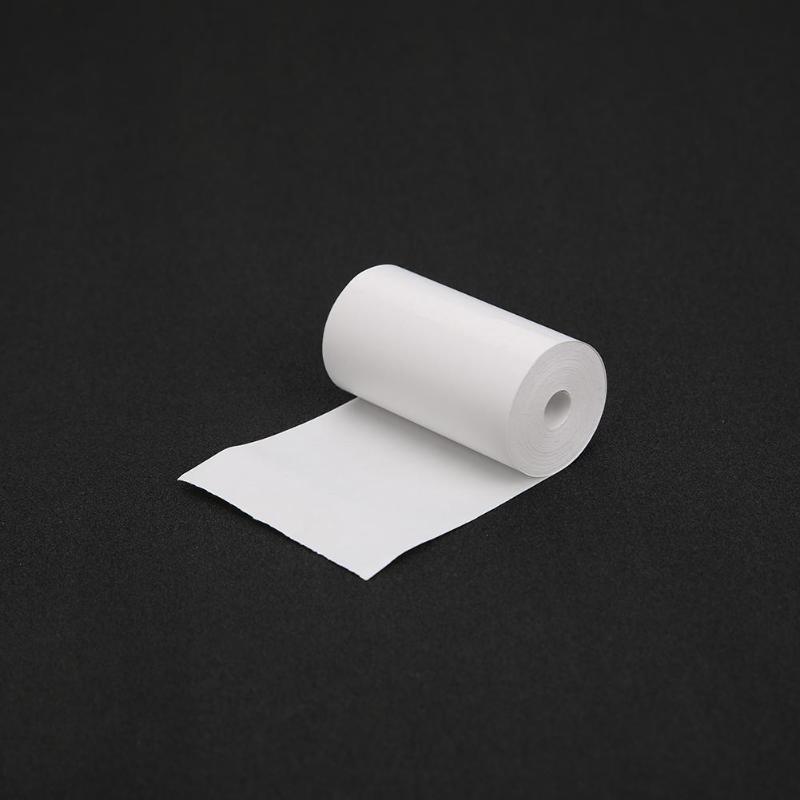 Купить с кэшбэком 5-Rolls/set 57*30mm Thermal Printing Paper 10 Meters Printable Sticker for Paperang & Peripage Mini Printer Accessories