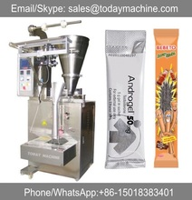 automatic Vertical salt sugar rice packaging machine paper packing 3 sides seal packer