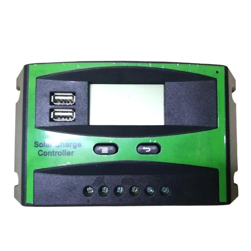 12/24V LCD Display Charging Controller Charger Regulator for Solar Panel Auto Solar Cell Panel Charger Regulator with Load12/24V LCD Display Charging Controller Charger Regulator for Solar Panel Auto Solar Cell Panel Charger Regulator with Load