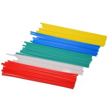 50 Uds varillas de soldadura PPR PP PVC plástico parachoques reparación varillas para soldadura Kit de herramientas de mano de polipropileno conjunto de soldadura nuevo