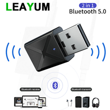 Get more info on the 2 in 1 Bluetooth 5.0 Adapter Receiver Transmitter Mini 3.5mm AUX Stereo Bluetooth Adapter For Car Home TV Heaphone Speaker