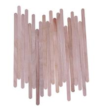 20pcs Wax Wooden Hair Removal Sticks Disposable Wooden Tongu