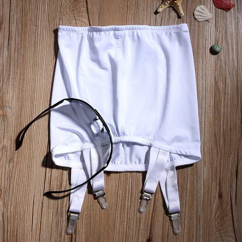 Сексуальные женские кружевные подвязки с высокой талией, 4 ремня на подтяжках, черные белые чулки, соблазнительные колготки, подвязки
