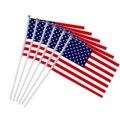 Ручной Мини-флаг США, 6 шт., 5x8 дюймов, 30 см