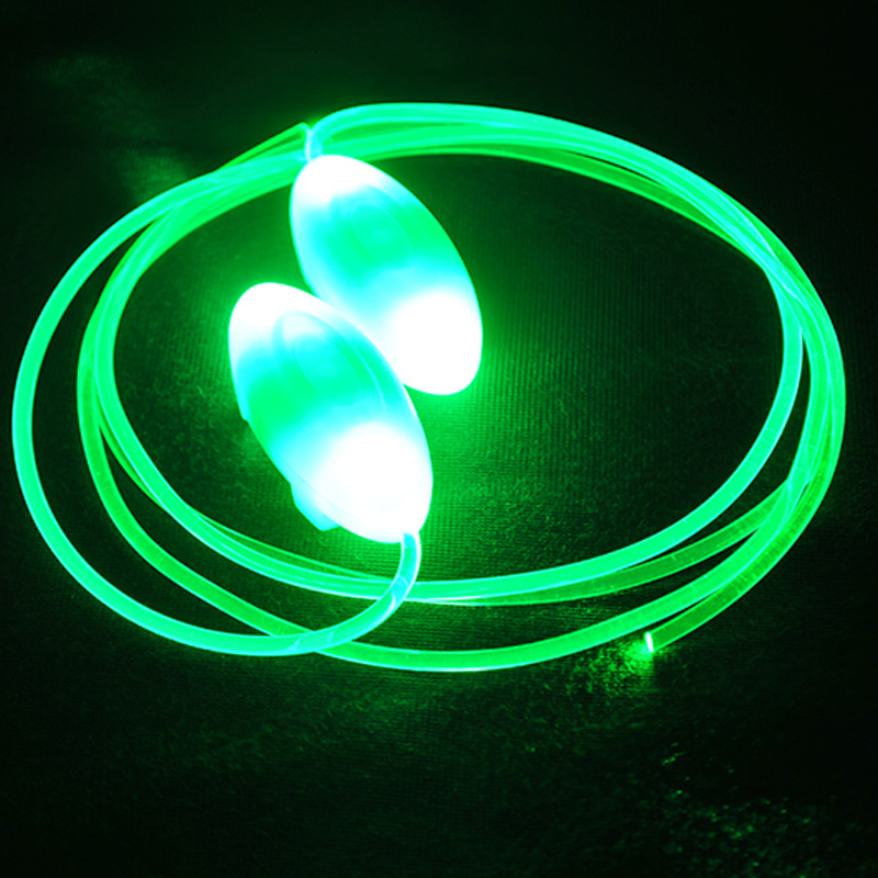 Glowing LED Shoelaces Party Skating Charming LED Flash Light Up Shoe Laces Glow In The Dark Shoe Lace For Sport Shoes Sneaker