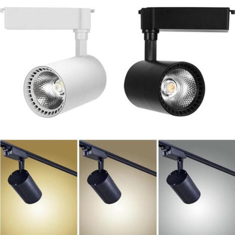Led Track Lighting 12w 20w 30w Cob