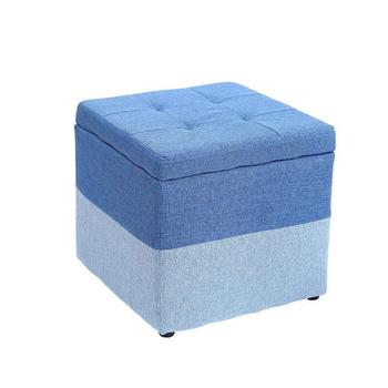 Taburete Pouf Storage Poef Foot Stool 1