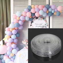 DIY Latex Balloons Modeling Tool Plastic Balloon Chain 5M Balloon Tie Knob Tool Birthday Party Wedding Decoration Supplies