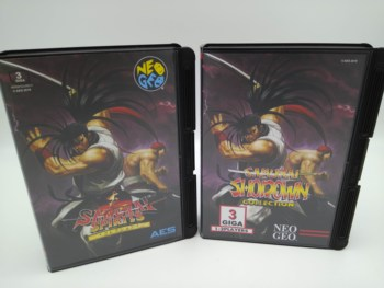 SAMURAI SHODOWN COLLECTION USA OR JAPAN VERSION FOR NEO GEO AES